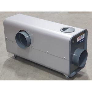 Aérotherme électrique centrifuge