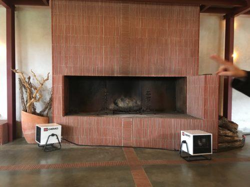 Location chauffage pour salle de réception